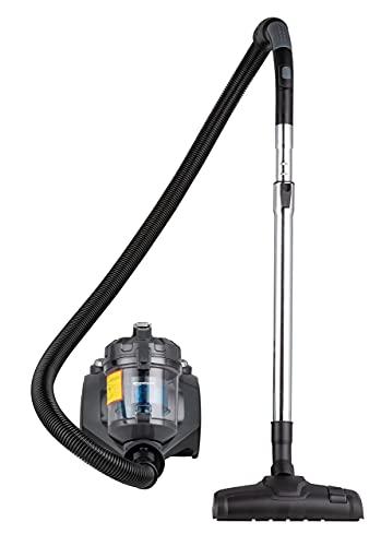 AmazonBasics - Potente aspirapolvere a cilindro, senza sacchetto, per pavimenti duri e tappeti, filtro HEPA, leggero e compatto, 700 W, 1,5 l (UE)