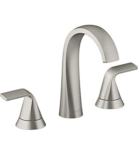 Kohler Cursiva R30579-4D-BN 8' Widespread Bathroom Faucet