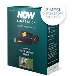 NOW Smart Stick con los Primeros 2 Meses de Deporte Incluido | Memoria Streaming | TV