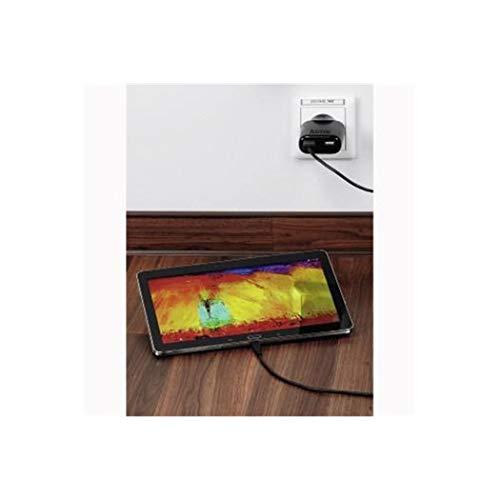 Hama Auto-Detect Innenraum Schwarz Ladegerät für Mobilgeräte - Ladegeräte für Mobilgeräte (Innenraum, AC, 5 V, Schwarz)