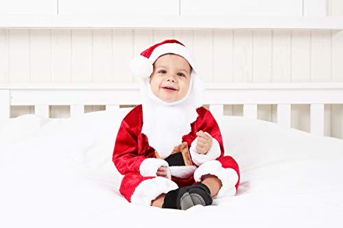 Spooktacular Creations Deluxe Baby Santa Costume Set (12-18 Months)