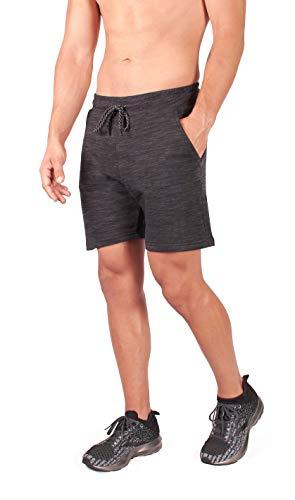 Short Ronex idéal pour Les Shorts de Fitness avec Poche zippée résistante à l'eau