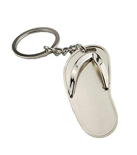 OgquatonFlip Flops Form Schlüsselanhänger Ring Anhänger kleines Geschenk Premium Qualität
