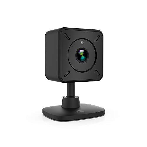 Clever Dog 1080P FullHD Mini Draadloze Beveiliging WiFi Camera's Home Beveiliging Camera Cloud Opslag Binnen Menselijke Detectie, Tweewegsstem, p2p, Nachtzicht, Bewegingsdetectie, Waarschuwingsberichten Kleur: Zwart