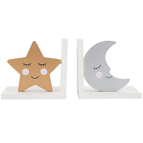 Maia Gifts Sweet Dreams Star & Moon Bookends