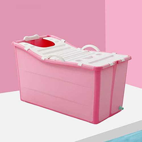 YUYAXBB opvouwbare volwassen opklapbare badkuip baby bad badkuip peuter/kinderen/baby douche wastafel met deksel en hoofdsteun gemakkelijk te reinigen reizen