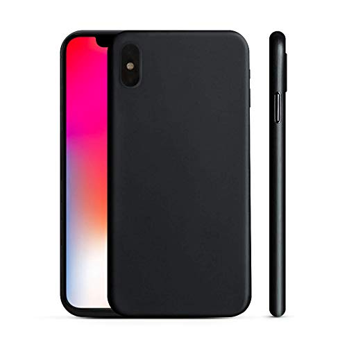 PEEL Ultra Thin iPhone X Case, Blackout - Minimalist Design | Branding Free | Protects and Showcases Your Apple iPhone X
