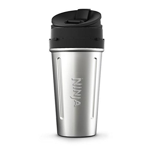 Ninja XSKDWSS24 Blenders - Accessories, 24 oz, Stainless Steel