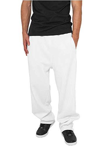 Urban Classics Sweatpants, Pantaloni sportivi Uomo, Bianco (White), XXXXX-Large