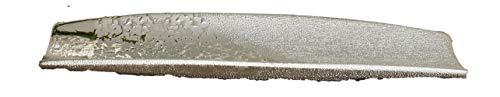 1 x Schale Grace Keramik champagner-silber Breite 49 cm, Tischdeko, Edelschale