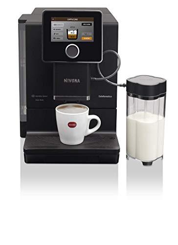 Nivona NICR CafeRomatica 960 Kaffeevollautomat, Mattschwarz/Chrome