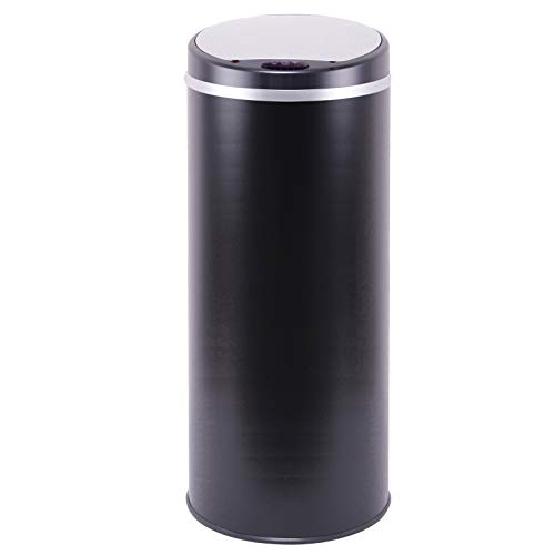 Kitchen Move BAT-42LI Design Originale Poubelle Sensor Automatique 42L Noir 31 x 74 cm