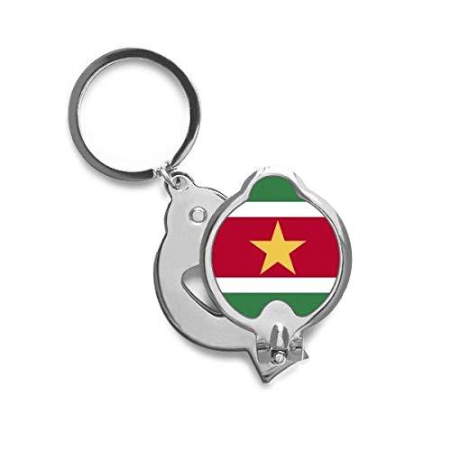 DIYthinker Suriname Nationale Vlag Zuid-Amerika Land Vingernail Snijder Trimmer
