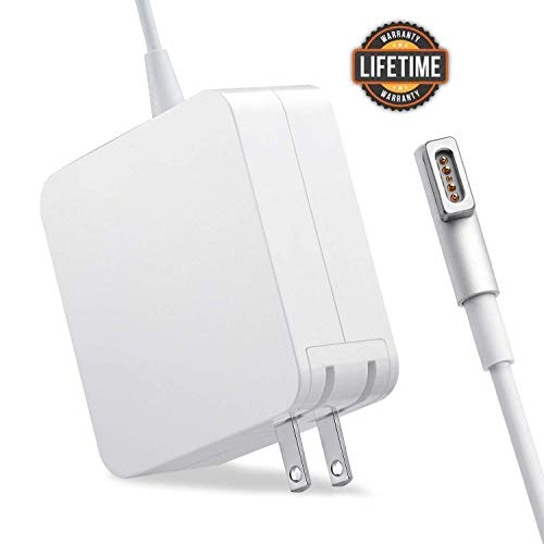 MacBook Pro Charger, 60W Magsafe Power Adapter L-Tip Connector Charger for Mac Book and 13-inch Mac Book Pro(Before Mid 2012 Models) (60L)