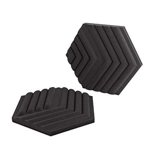 Elgato Wave Panels, 6 paneles de tratamiento acústico, espuma de dos densidades, marcos EasyClick patentados, diseño modular, fáciles de instalar y quitar