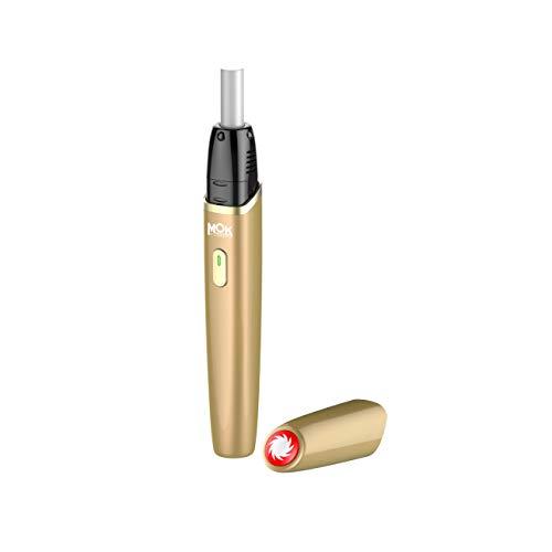 加熱式タバコ 互換機 本体 MOK Zeus(ゼウス) スターターキット 電子タバコ 正規品 キャップ付 (ゴールド)