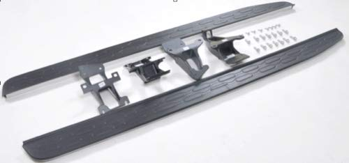 All Black Stealth Side Steps compatible LR Discovery 3 LR3 05-9