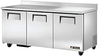 True TWT-72 Worktop Refrigerator - Three Door, 19 Cu. Ft.