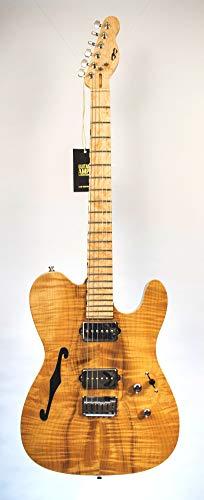 PD Guitars T-Semi - Guitarra eléctrica hueca hecha a mano