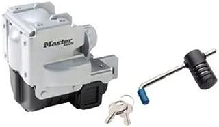 Master Lock Trailer Lock, Stainless Steel Trailer Coupler Lock, Fits 2-5/16 in. Couplers, 3784DAT