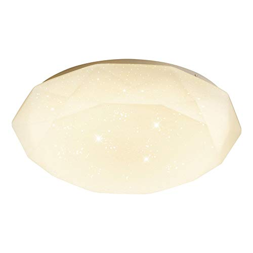 ZHANGL Nordic Modern LED Luz de techo Acrílico Comedor Acrílico Iluminación Luz de techo de tres colores Luz incrustada Techo Sala de estar Cuarto de baño Decoración de la iluminación 40 cm [Energía A