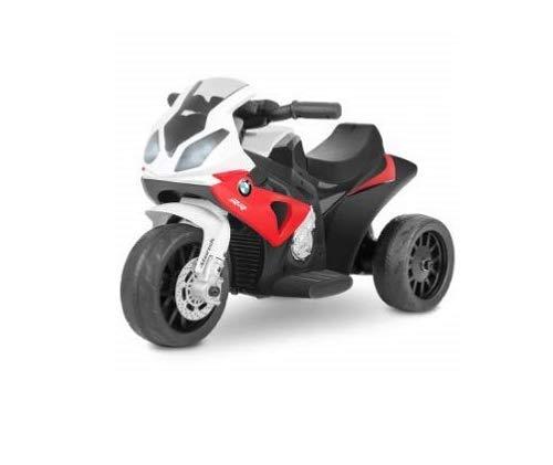 Playkin BMW S1000 RR - Moto electrica niños oficial 6V recargable triciclo infantil +18 meses juguetes infantiles correpasillos infantil coches de bateria