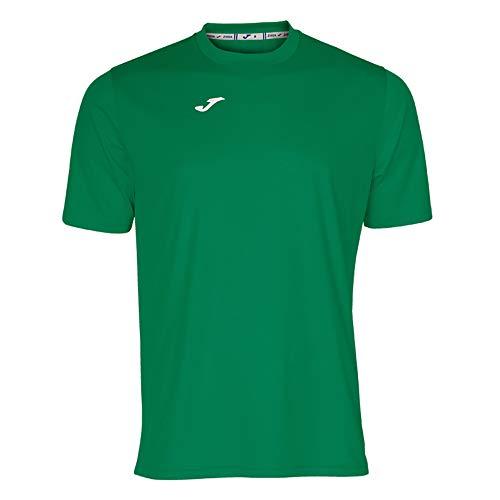 Joma Combi Camiseta Manga Corta, Hombre, Verde, M