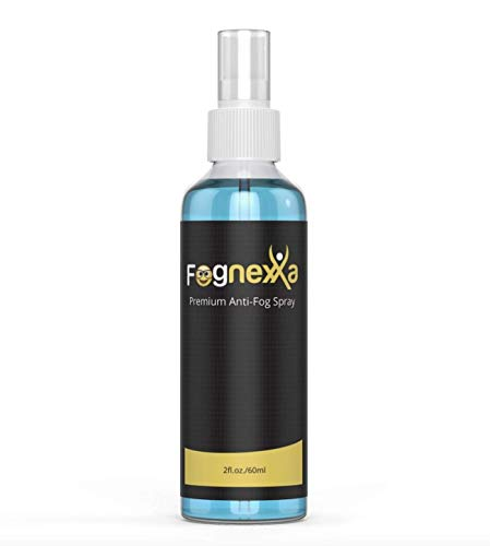 Fognexxa Premium Anti Fog spray For Glasses, VR Headsets, Goggles & PPE | 24 Hr Fog Protection | Made In The USA