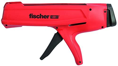 fischer Auspressgerät FIS DM S, Kartuschenpistole für 2-Kammern-Kartuschen, Auspresspistole zum effizienten Auspressen, ergonomisches Design für optimale Handhabung