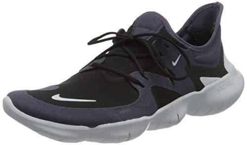 Nike Herren Free Rn 5.0 Running Shoes, Dark Raisin/Aura-Black, 44 EU