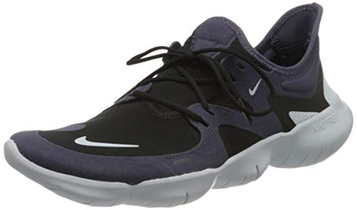 Nike Herren Free Rn 5.0 Running Shoes, Dark Raisin/Aura-Black, 40.5 EU