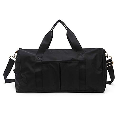 Yoga Bag Canvas Sports Gym Bags Men Women Training Fitness Travel Handbag Yoga Mat Sport Bag with Shoes Compartment