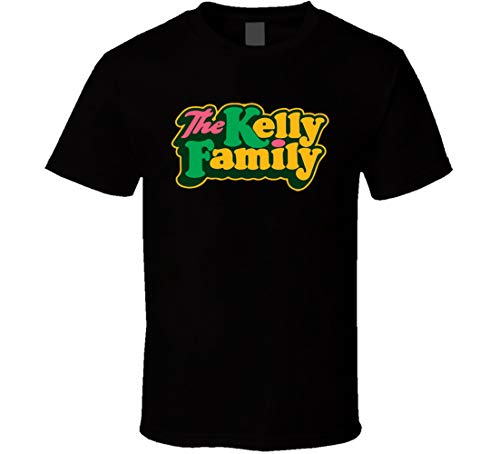 ZGPT The Kelly Family TV-Show T-Shirt, Schwarz Gr. 56, Schwarz