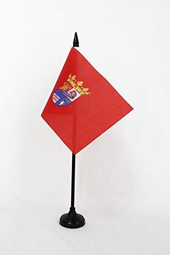 Az Flag Tabla Bandera Provincia de Segovia, 15 x 10 cm
