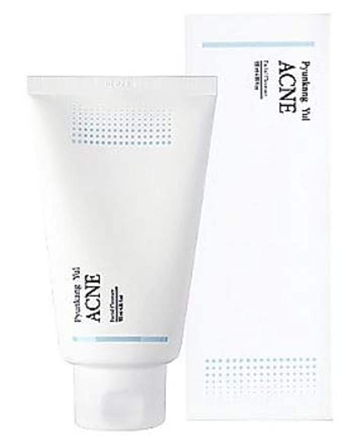 不完全顔料ブルーベル[ Pyunkang yul ] Pyunkang Yul ACNE Facial Cleanser 120ml / アクネ フェイシャル クレンザー 120ml [並行輸入品]