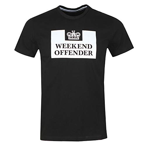 Weekend Offender Prison T-Shirt | Black