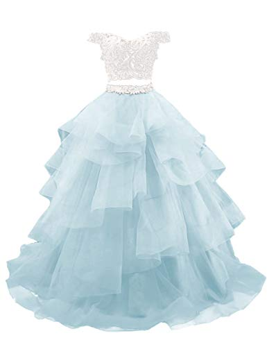 H.S.D Prom Dress Off The Shoulder Sweet 16 Dress Quinceanera Dress Tiffany Blue 28W