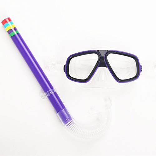 Xasclnis Kinderbril, ademend, set ademende bril, zwembril voor kinderen