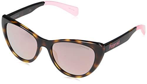 Óculos de Sol Polaroid 8032/S Marrom/Rosa Infantil