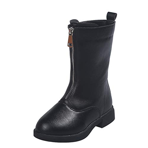 Snakell Mädchen Lederstiefel Halbschaft Stiefel Hoher Absatz Freizeit Schuhe Schnalle Mode Sexy Mädchen Overknee High Boot High Heel Lange Oberschenkel Stiefel Schuhe Stiefel