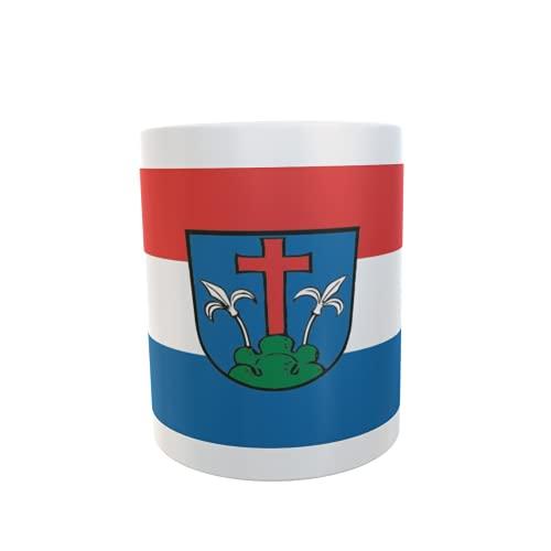 U24 Tasse Kaffeebecher Mug Cup Flagge Friedberg (Bayern)