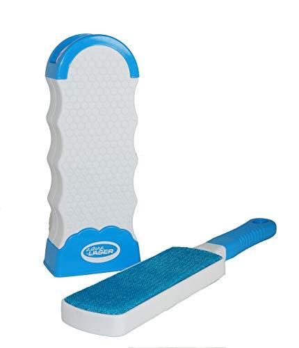 Fusselbürste Kleidung Sticky Hero | Alternative zur Fusselrolle | Fell- und Fussel Entferner Roller | Tierhaarentferner selbstreinigend & doppelseitig