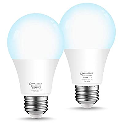 LOHAS Smart LED Bulb Dimmable, 50W Equivalent A...