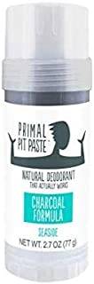 Primal Pit Paste, Charcoal Formula, Seaside, 2.7 ounces