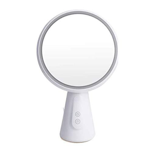 SPNEC Espejo de baño con Luces de Maquillaje lámpara de Mesa de Escritorio de Estudiantes compartida Vestir Espejo lámpara de Mesa