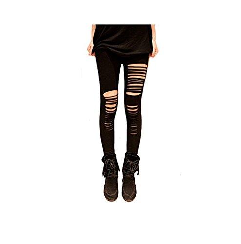 Miya - Leggings - para mujer negro talla única