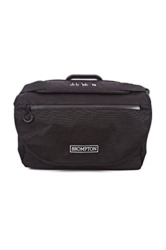BROMPTON S Bag ブロンプトン Sバッグ (ブラック) [並行輸入品]