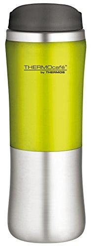 Thermos - Tasse isolée - Acier inoxydable - 300 ml - Citron vert/Argent