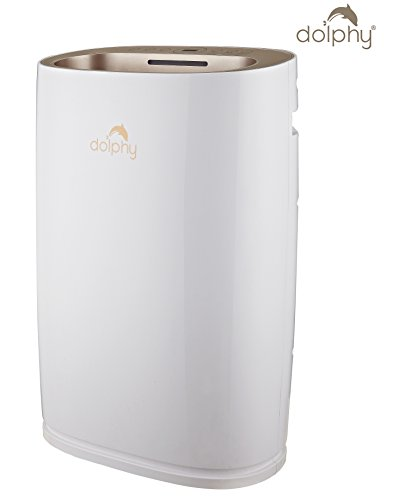 Dolphy 75W Air Purifier with HEPA Filter