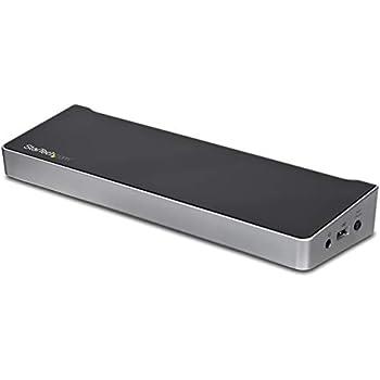 StarTech.com Dual Monitor KVM Docking Station - for Two Laptops - 4K - File Transfer - Universal Laptop Docking Station  USB3DDOCKFT